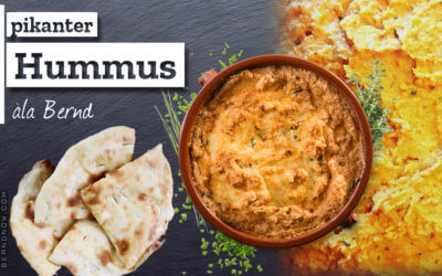 Hummus pikant àla Bernd